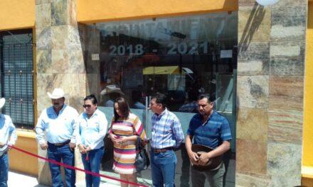 Inauguró Norberto Roldán la rehabilitación de las instalaciones de la presidencia y DIF municipal