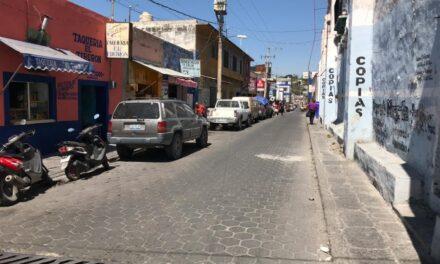 En abril inician obras de pavimentación en calles del centro de Izúcar