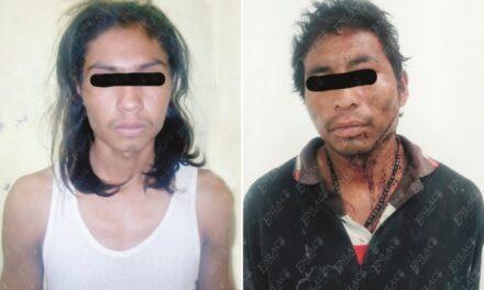 Vecinos de Izúcar  detuvieron y golpearon a dos presuntos ladrones