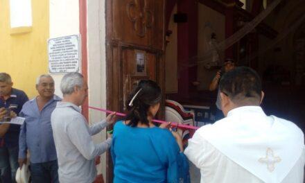 Entrega el INAH el templo de San Nicolás Tenexcalco, rehabilitado