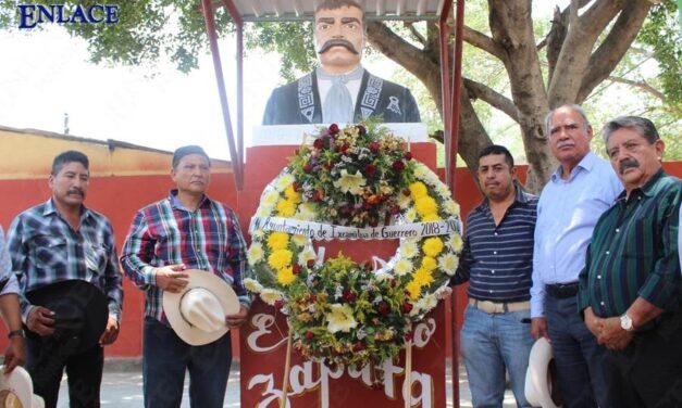 Conmemoran el 107 aniversario de la repartición de tierras en Ixcamilpa