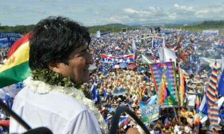 Evo Morales arranca su campaña para reelección