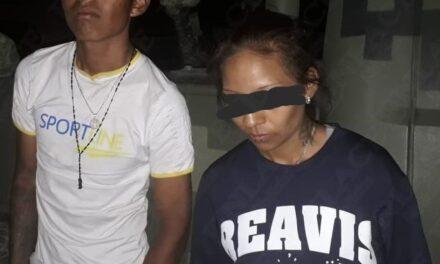Detienen a hombre y mujer por posesión de estupefacientes en Izúcar