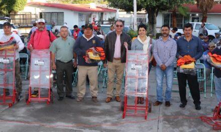 Ayuntamiento de Izúcar entrega uniformes y equipo a personal de Servicios Públicos