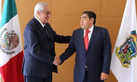 Se reúnen Barbosa Huerta y Pacheco Pulido