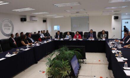 Verifican diputados avances de solicitudes en materia procuración de justicia a la FGE
