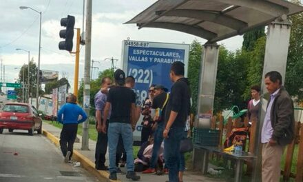 Muere menor atropellada por unidad de la Ruta 45-A en Puebla