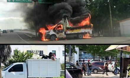 Detienen a hijo del Chapo Guzmán y se desatan balaceras y bloqueos en Culiacán, Sinaloa