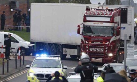 Encuentran camión con 39 migrantes muertos en Londres