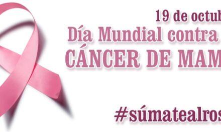 Todos de rosa contra el cáncer de mama