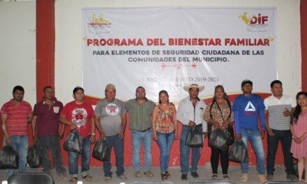 Ayuntamiento de Tepeojuma entrega despensas a rondas