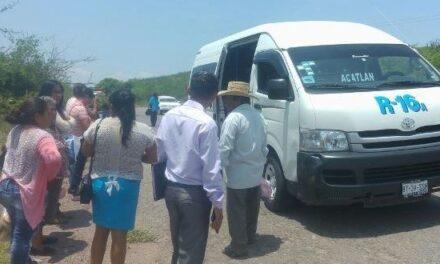 Transportistas de la Mixteca piden apoyo