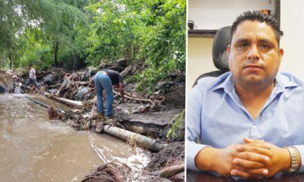 Atienden problemas de agua potable en Chietla