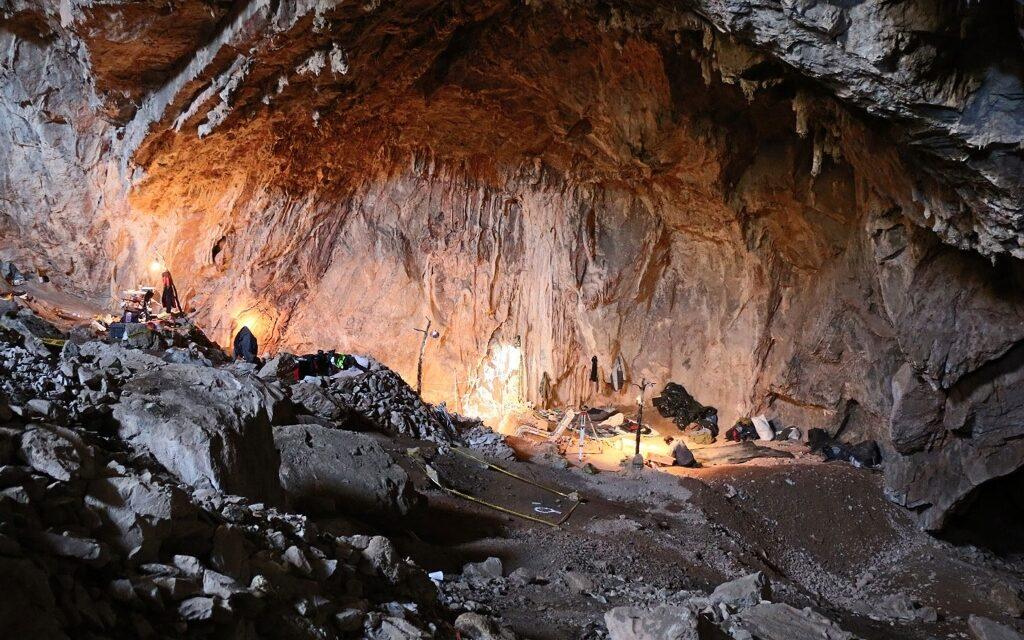 Descubren evidencia humana de 30 mil años en cueva de México