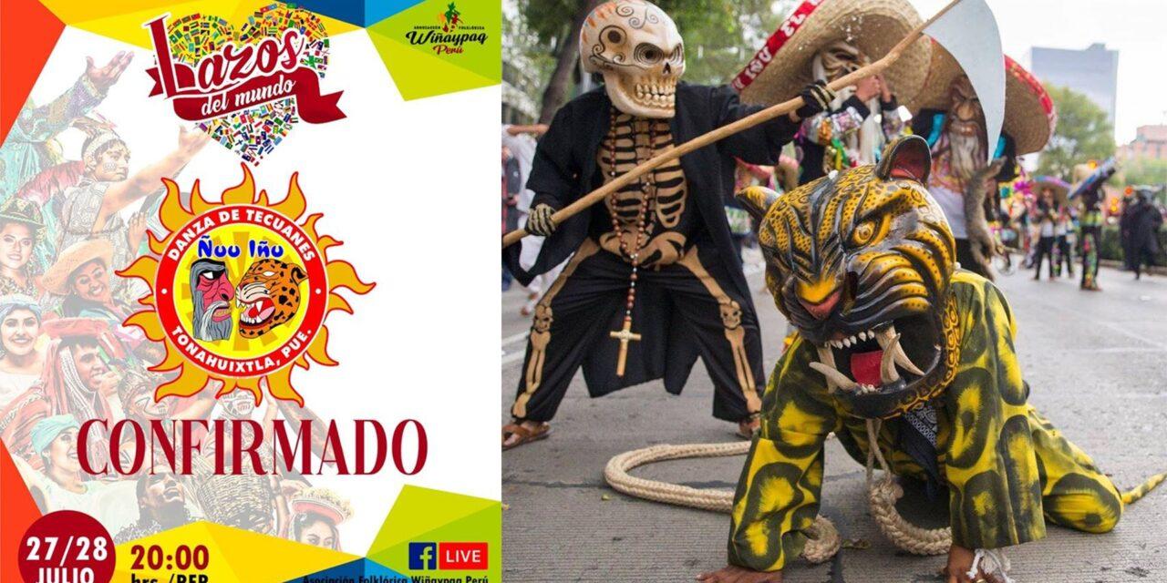 Grupo de danza de la Mixteca participa en festival virtual de Perú