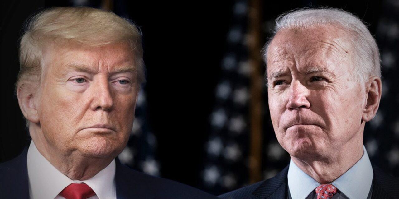 Donald Trump tiembla ante elecciones; Biden va 8 punto arriba