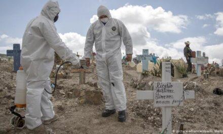 México el quinto país con más muertes por coronavirus