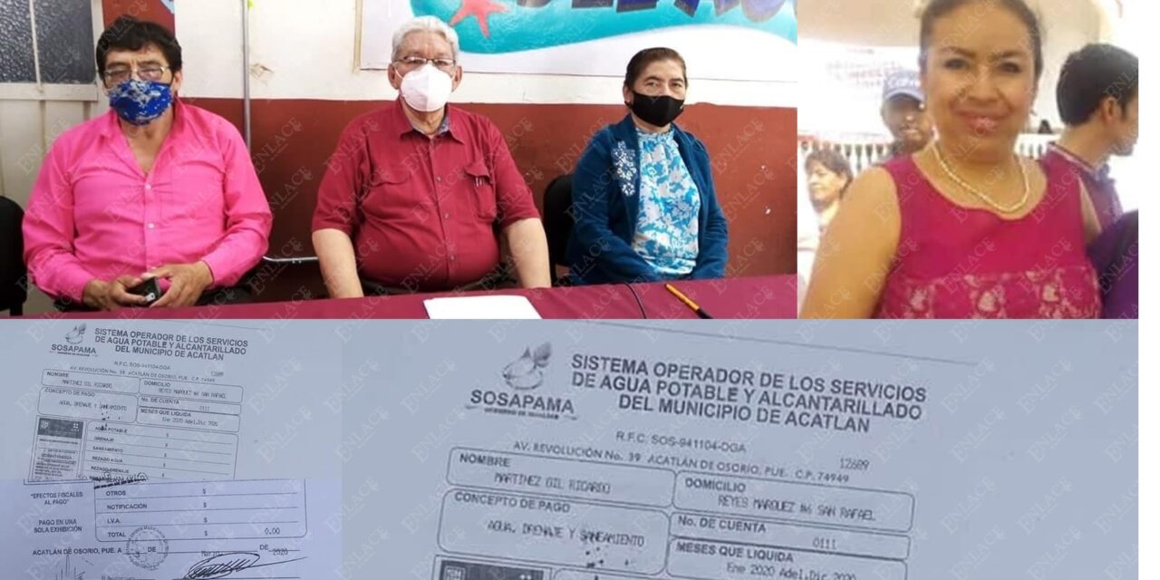 Renuncia director de SOSAPAMA; denuncia irregularidades de parte de alcaldesa de Acatlán