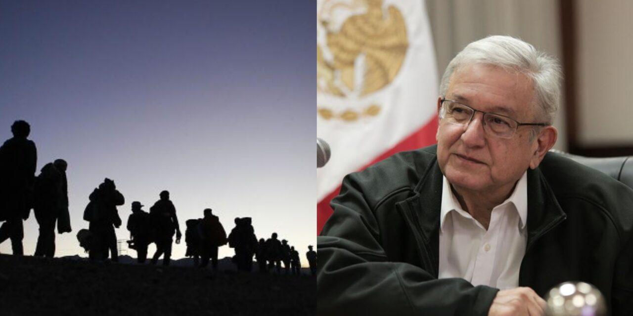 Migrantes mexicanos exigen un encuentro con AMLO