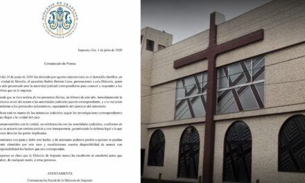 Tras las rejas sacerdote que abuso sexualmente a una menor en Guanajuato