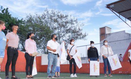 Arranca rehabilitación de unidad deportiva en Tepeojuma