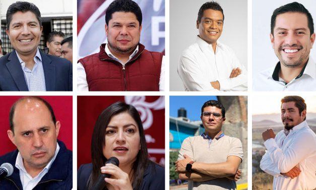 ¿Quiénes serán los candidatos de MORENA, PRI, PAN, PRD, MC, PVE; con miras al proceso electoral de 2021?