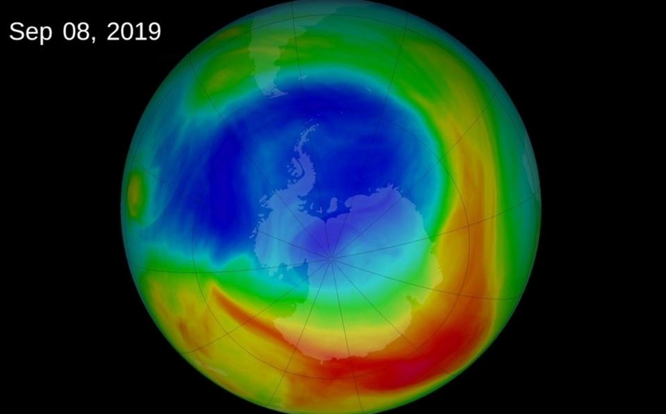 El agujero más grande de la capa de ozono está cerrado