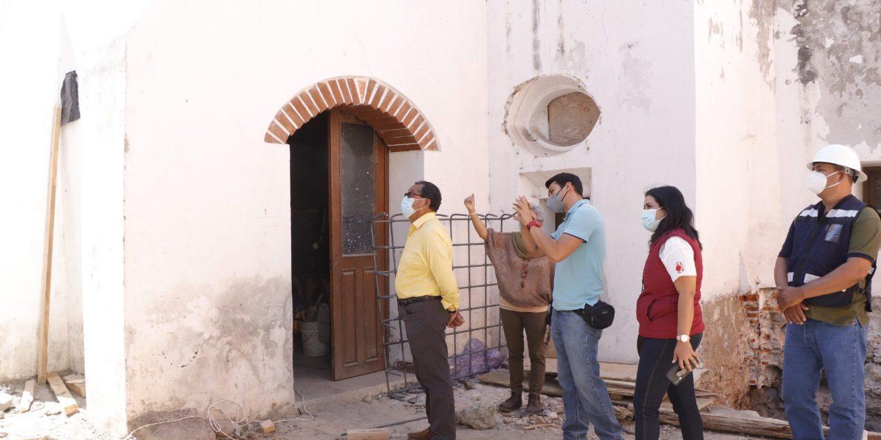 Rehabilitación de inmuebles concluirá este año: Irene Olea Torres