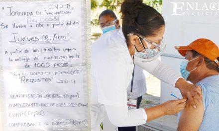 Inicia vacunación de la segunda  dosis para Covid-19 en Acatlán