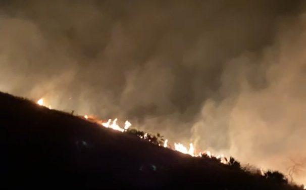 Incendio alertó a los ciudadanos de Izúcar y Tepeojuma