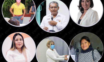 Un hombre y cinco mujeres buscan la Diputación Federal por Acatlán
