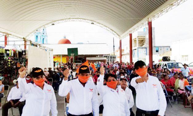 Administración de Aniceta se ha robado el dinero del pueblo: candidata de MC