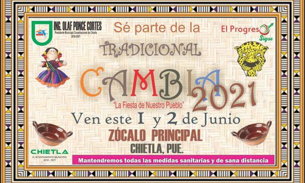 Mañana inicia la Cambia en Chietla