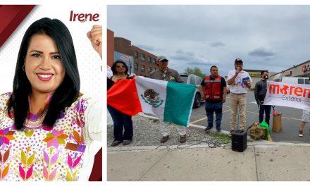 Migrantes izucarenses respaldan proyecto de Morena en Izúcar