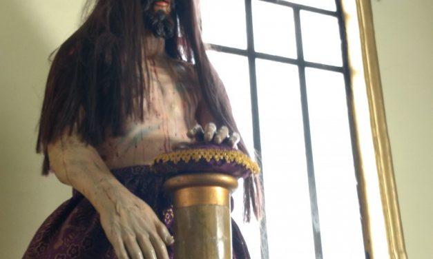El cristo de la bala, figura emblemática en la batalla de puebla