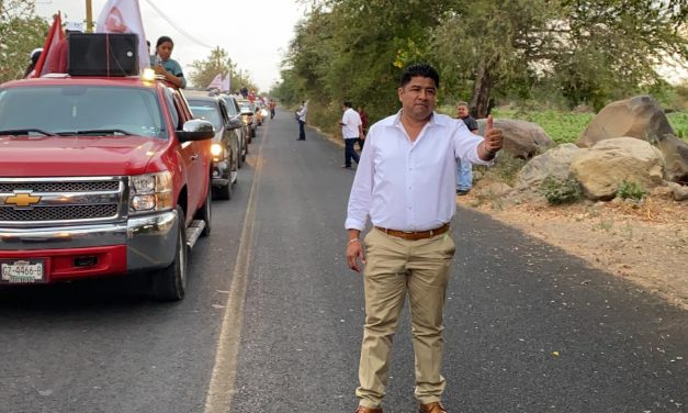Ciro Gavilán arranca campaña en Huaquechula