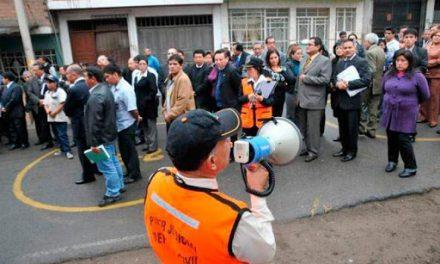 Realizan simulacro de sismo en Huehuetlán