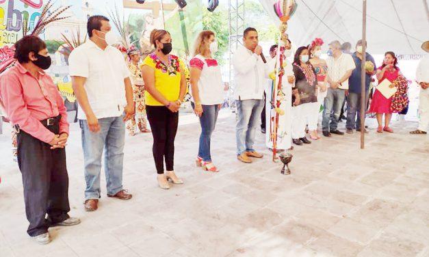 """Realizan tradicional """"Fiesta de la Cambia"""" en Chietla"""