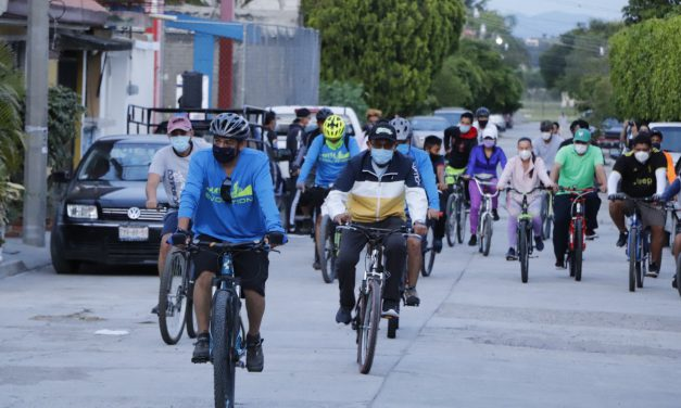 """Deporte y cultura en la rodada ciclista """"Conociendo Izúcar"""""""