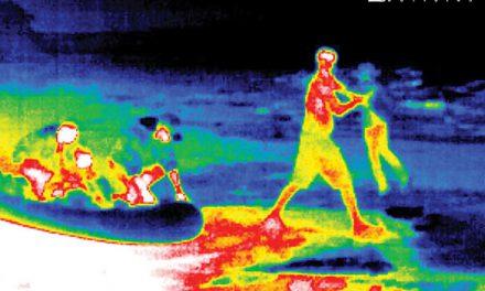 Con cámaras de calor EU continúa arrestando migrantes