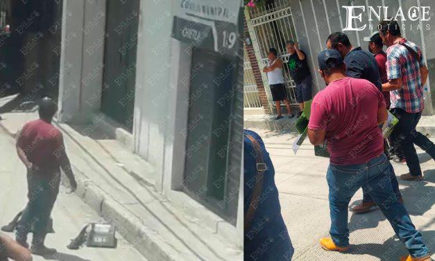 Vandalizan instalaciones del IEE en Chietla