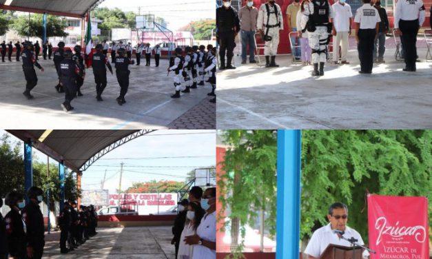 Realizan ceremonia cívica y pase de lista en La Magdalena