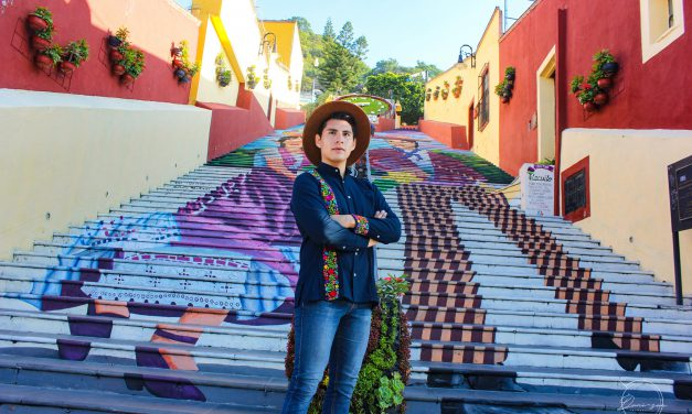 Atlixquense representa a Puebla en  Mr Realeza Gay México 2021
