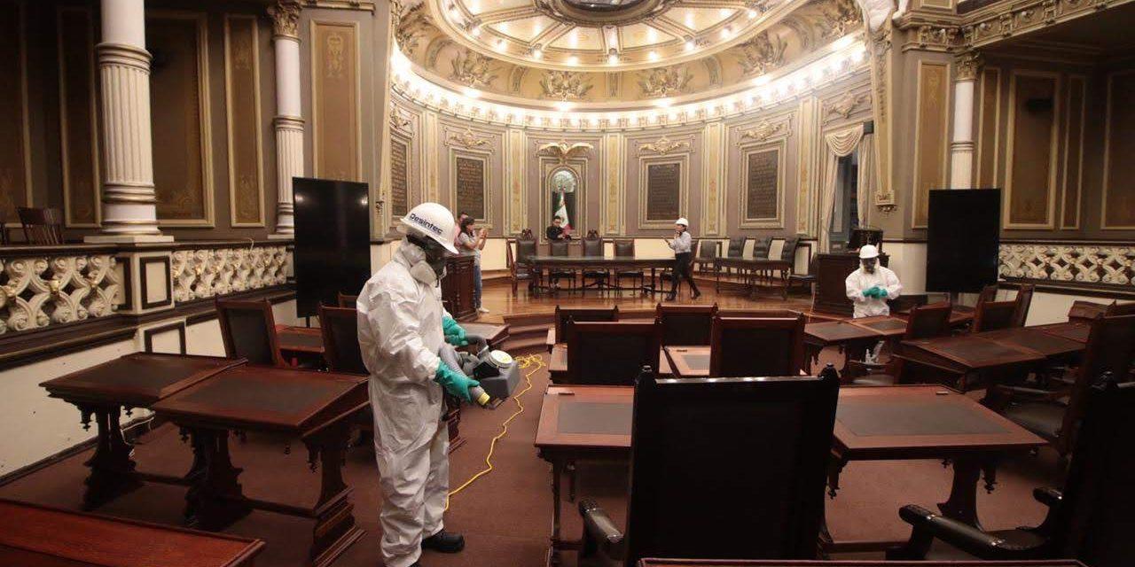 Descarta Congreso brote de COVID-19 al interior del Poder Legislativo