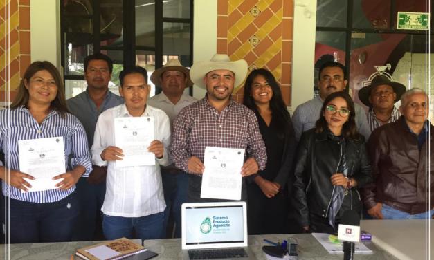 Productores firman convenio binacional para promover el aguacate atlixquense