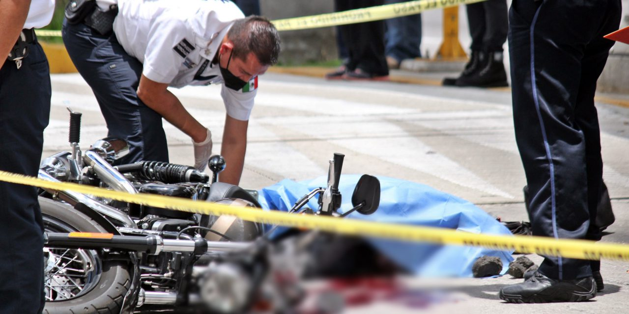 Otro motociclista muere en la región de Atlixco