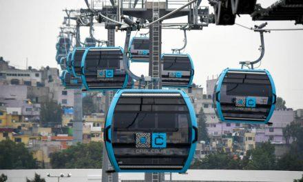 Cablebús, primer sistema de transporte tipo teleférico en el país