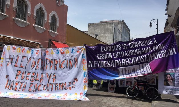 Justicia, piden familiares de desaparecidos en Puebla