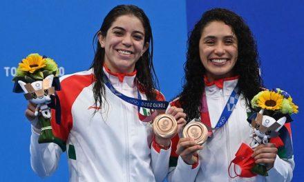 Segunda medalla para México gracias a Alejandra Orozco y Gabriela Agúndez