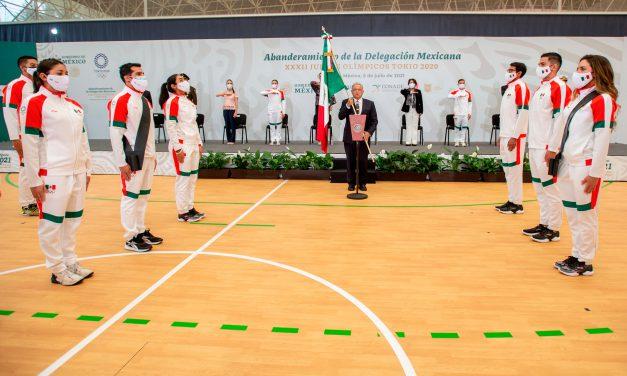 AMLO promete estímulos económicos a deportistas olímpicos en Tokio 2020
